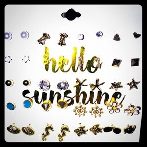 Other - Hello Sunshine!! ✨🦋☀️ Earrings for Girls, so Cute
